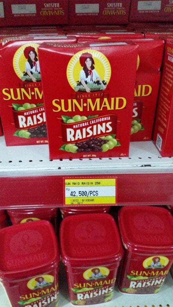 Bali Sunmaid Raisins