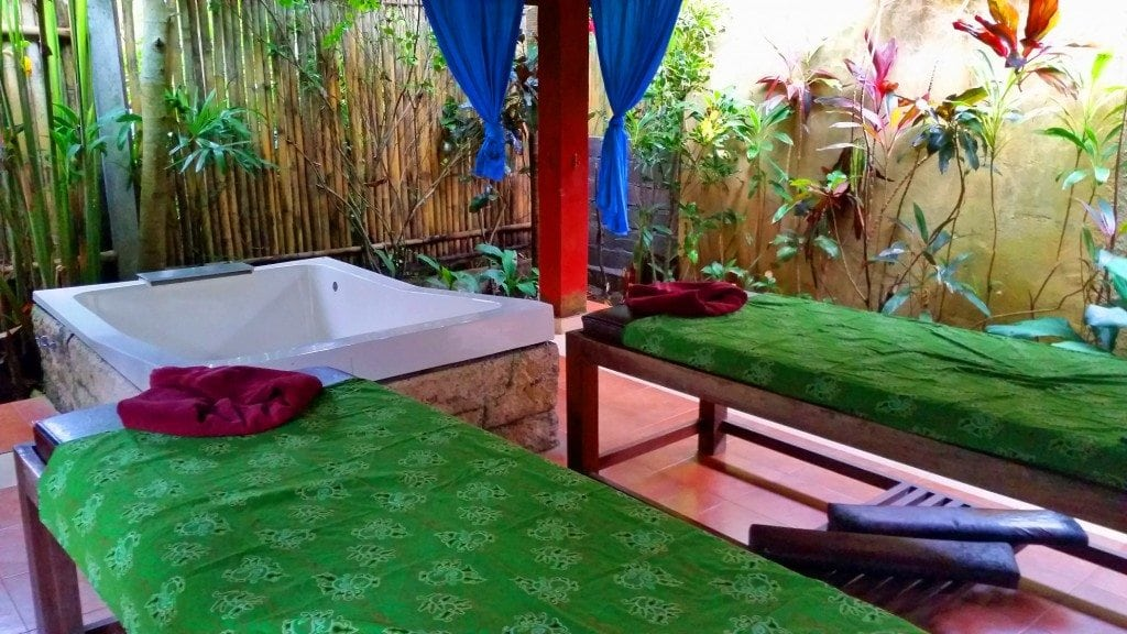 Couples massage Ubud Bali