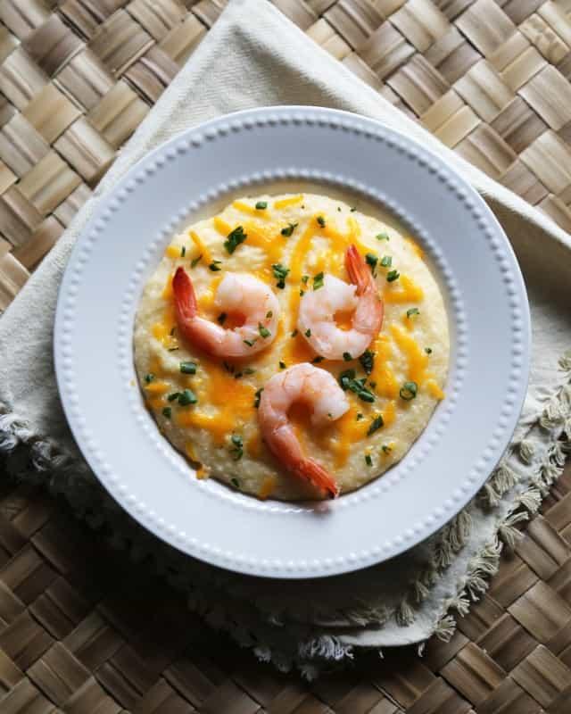 Crock Pot Shrimp and Grits