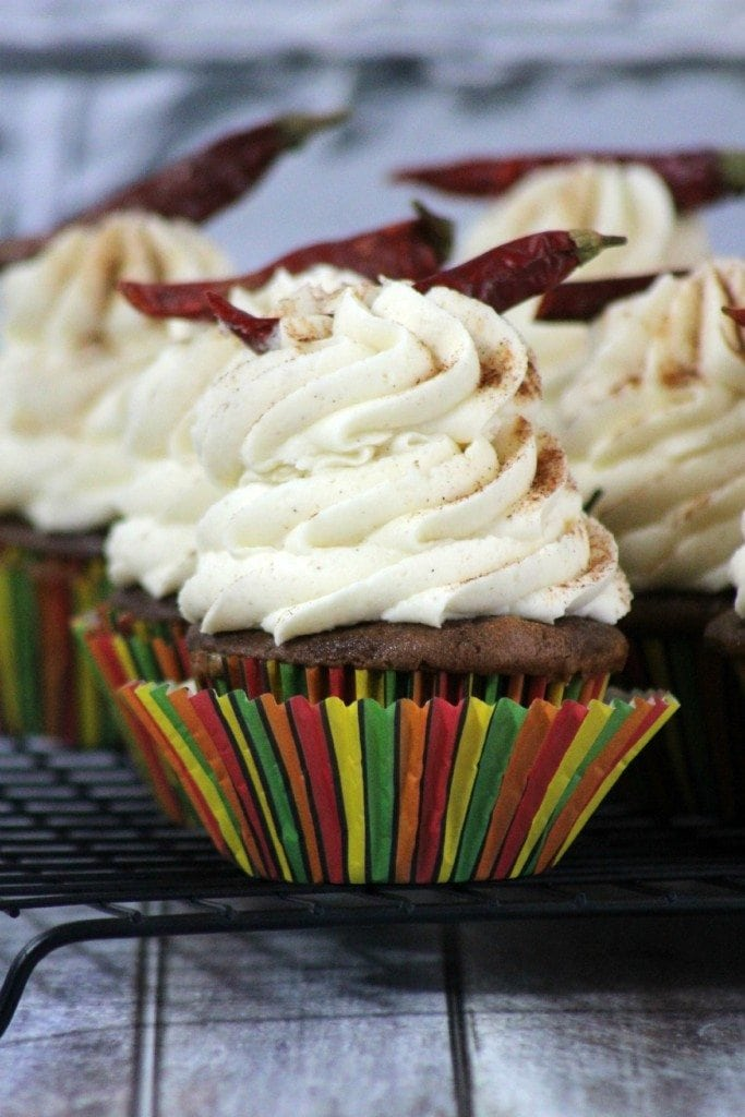Mexican Chocolate Cupcake Recipe
