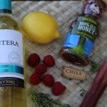 Oh Honey Bee Moscato Wine Cocktail Recipe Ingredients