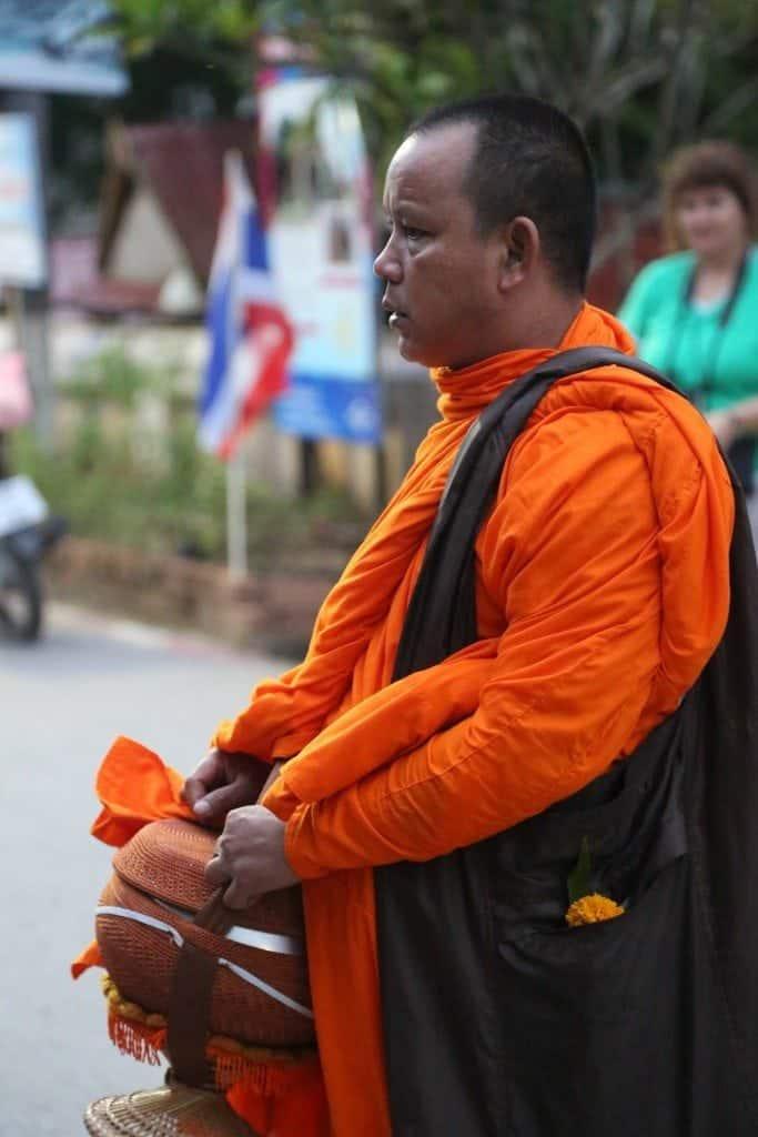 buddist monk northern Thailand