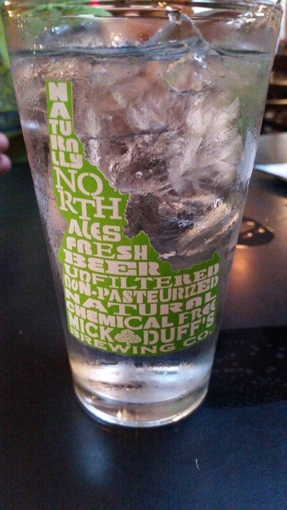 Mick Duffs Brewery Glass