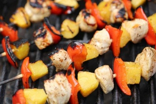 Grilled Balsamic Chicken Skewers Recipe