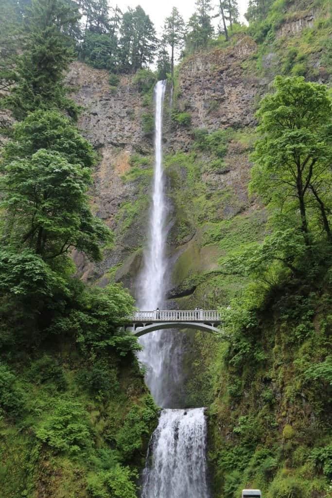 Mulnomah Falls near Portland