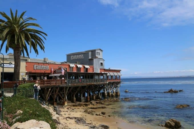 Great restaurants on cannery row in monterey california for Fish hopper monterey