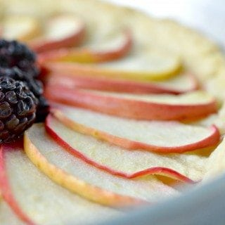 Apple Blackberry Fruit Tart