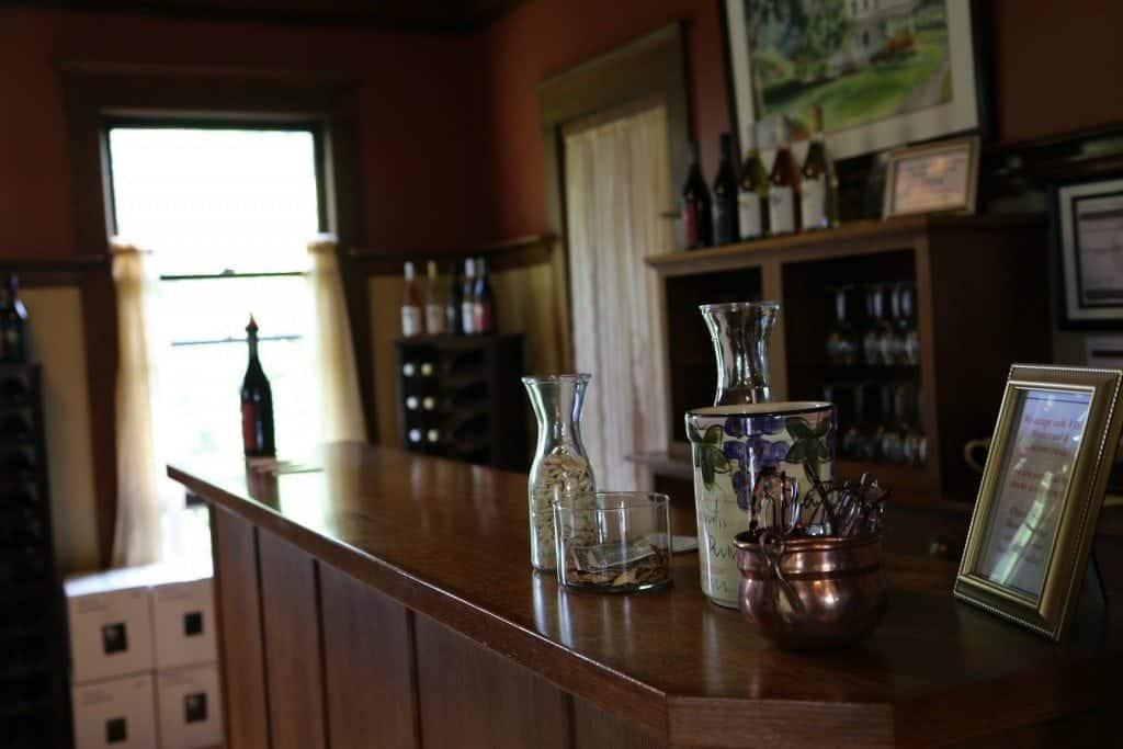gorge white house wine tasting