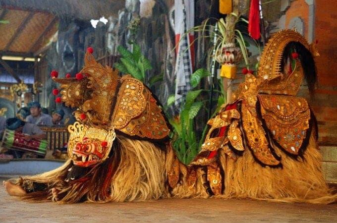 Barong and Kris Dance in Bali near Ubud