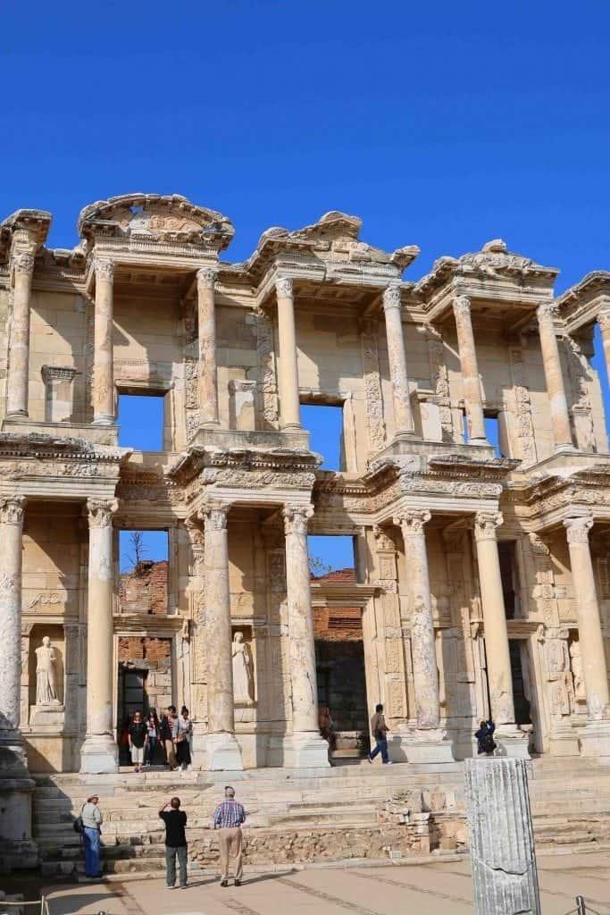 Blog Celsus Library Ephesus Turkey