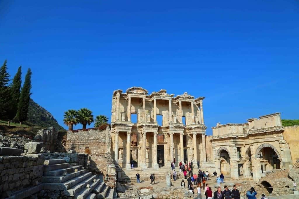 The Celsus Library Ephesus Turkey