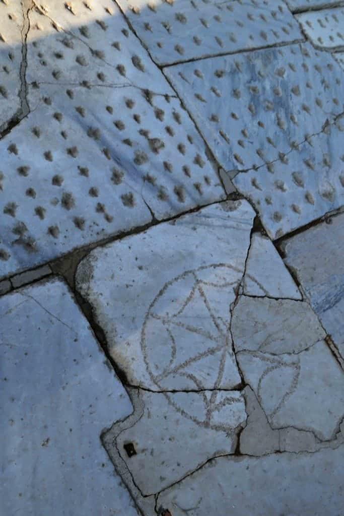 Blog walkways in Ephesus