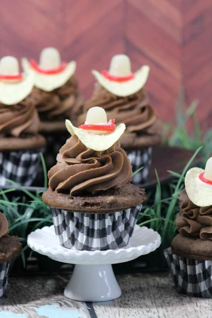 Cowboy Hat Cupcakes