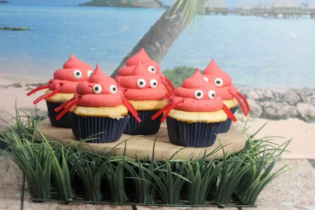 Super Cute Crab Cupcakes