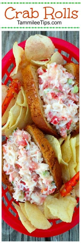 Hot Crab Rolls and Sliders Sandwich Recipe are the perfect summer lunch or dinner. Easy to make, Tastes amazing, and oh so delicious