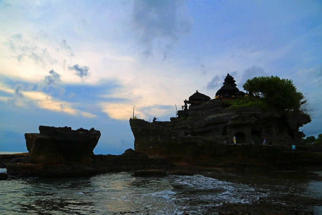 Tanah Lot at Sunset