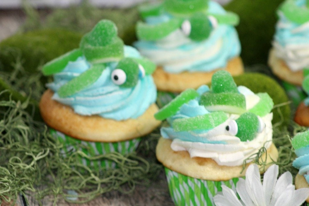 Super cute Turtle Cupcake
