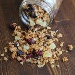 Crock Pot Granola with Dried Fruit Recipe