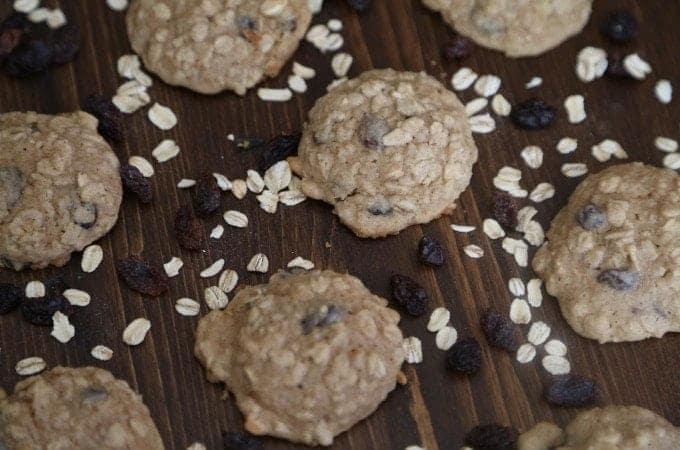 Apple Oatmeal Raisin Cookies Recipe
