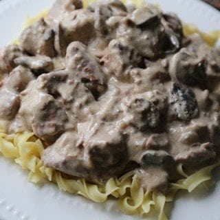 Crock Pot Porter Stroganoff Recipe