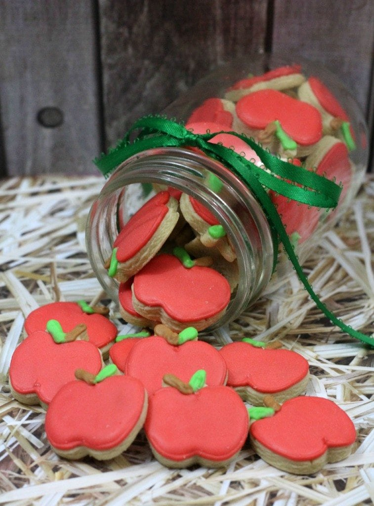 Mini Apple Cookies