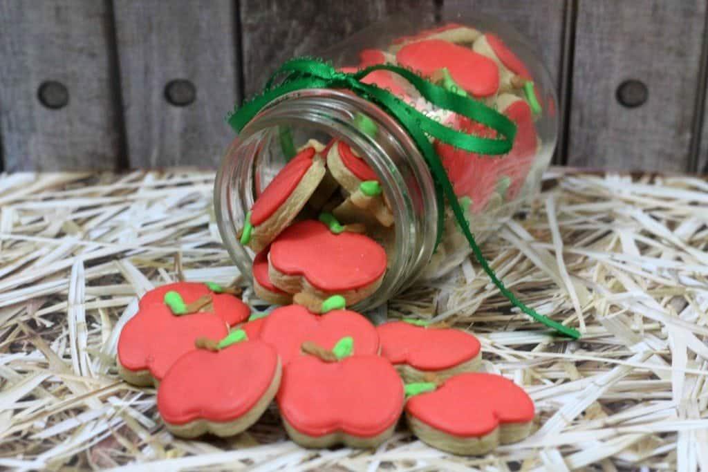 Super Cute Mini Apple Cookies