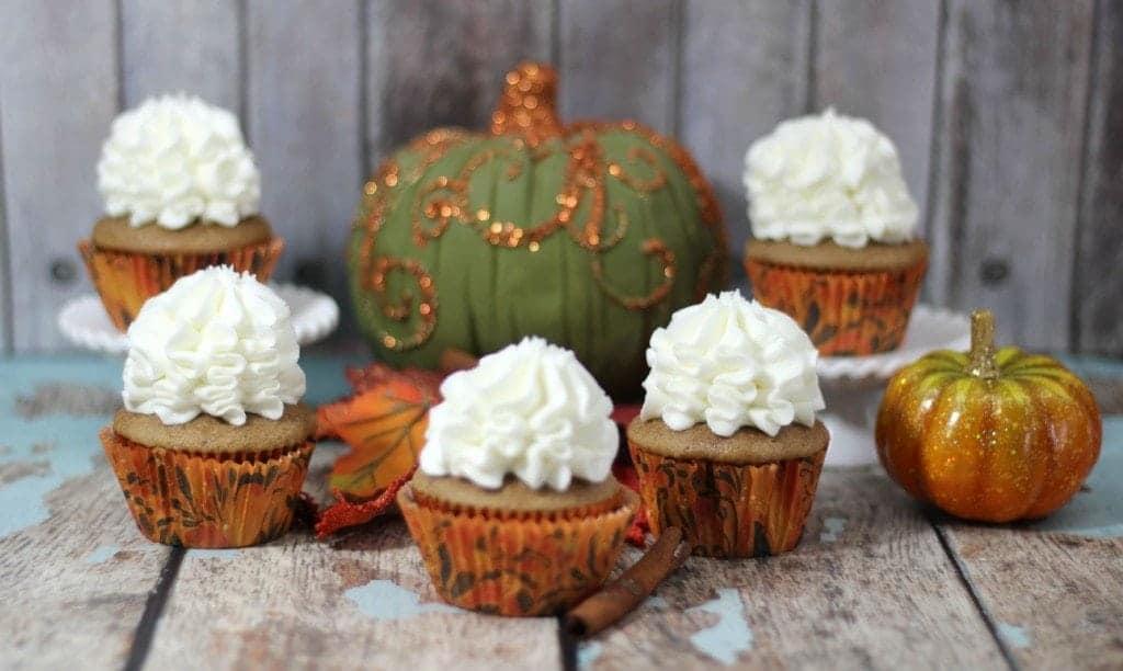 Pumpkin Chai Cupcakes