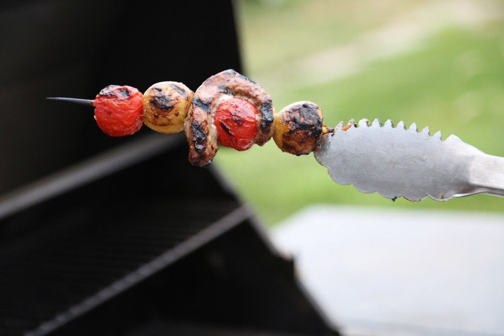 Ranch Steak Kabobs on the barbecue recipe