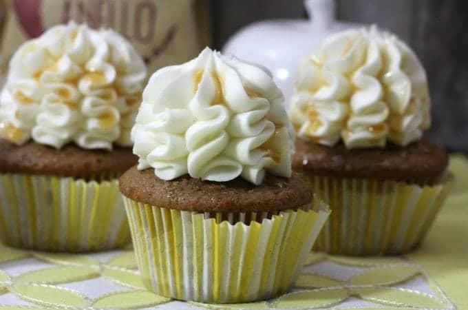 Salted Caramel Latte Cupcake Recipe