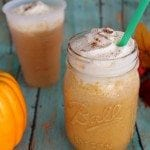 Copy Cat Starbucks Pumpkin Spice Frap Recipe