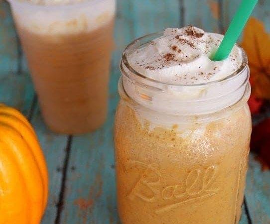 Copycat Starbucks Pumpkin Spice Frappuccino Recipe