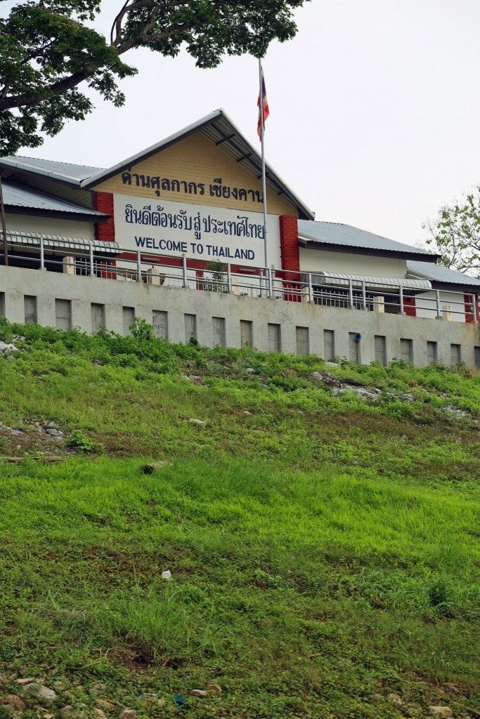 Thailand Immigration along the Mekong River