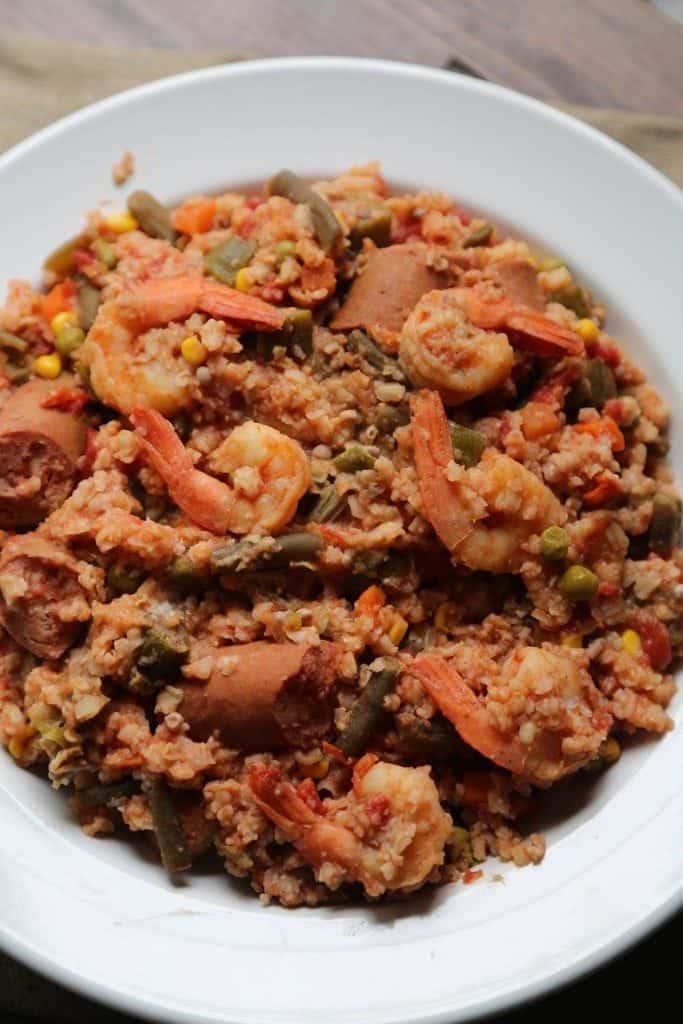 Crock Pot Cajun Shrimp Stew