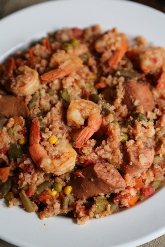 Crock Pot Kielbasa and Shrimp Stew Recipe