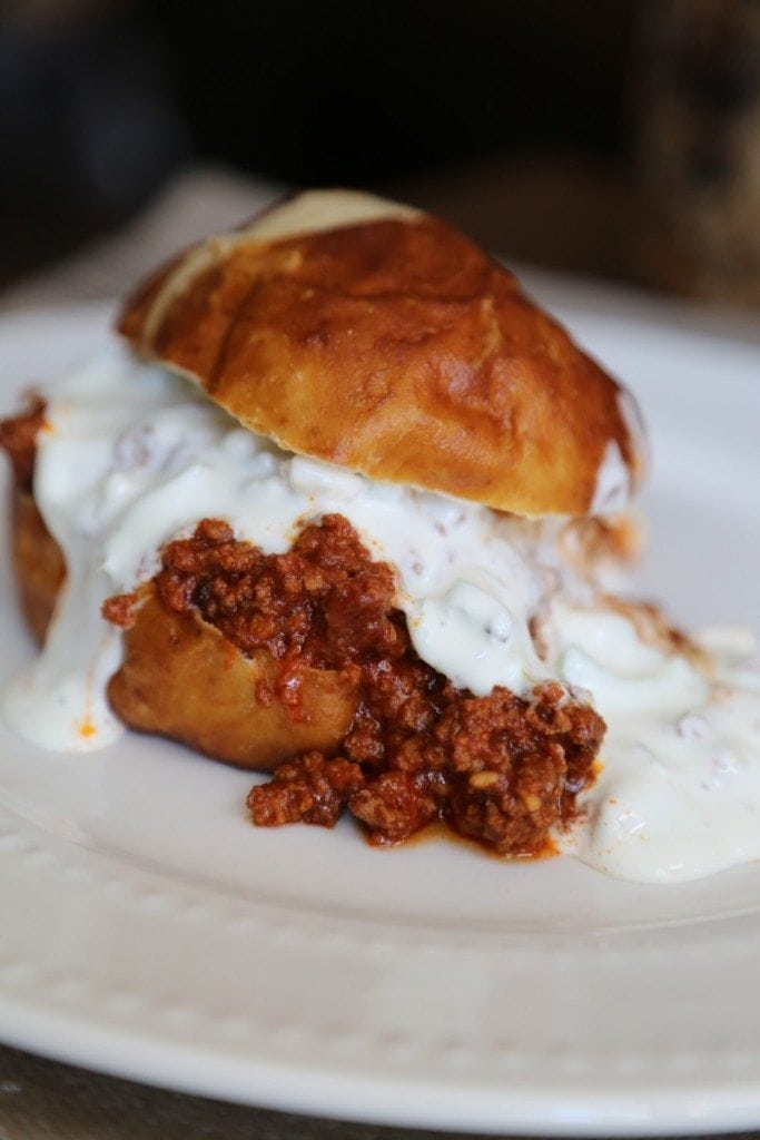 Crock Pot Buffalo Sloppy Joe Recipe