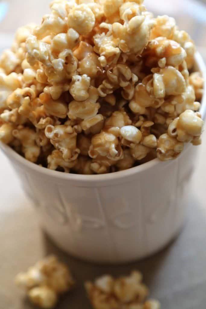 Salted Caramel Popcorn Recipe