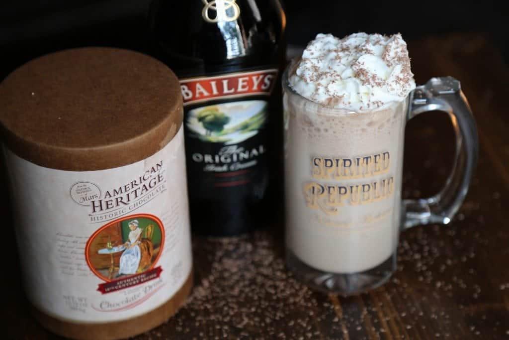 Boozy Frozen Hot Chocolate
