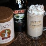 Boozy Frozen Hot Chocolate