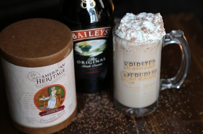 Boozy Hot Chocolate recipe and touring Washington DC with American Heritage Chocolate!