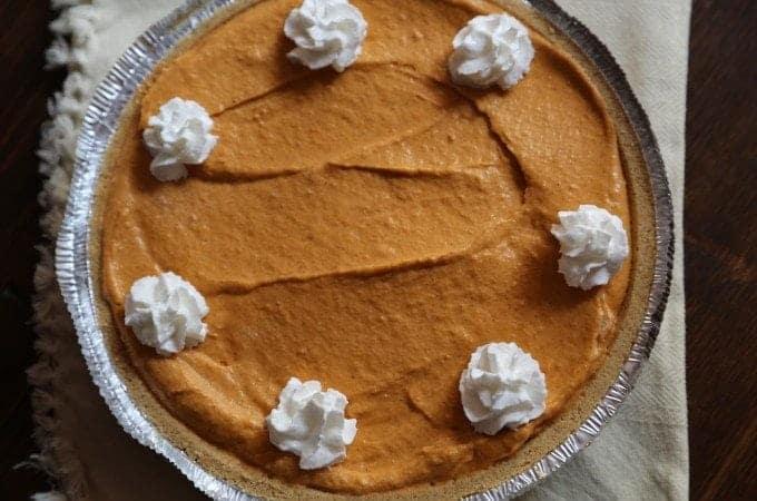 No Bake Pumpkin Butterscotch Pie Recipe