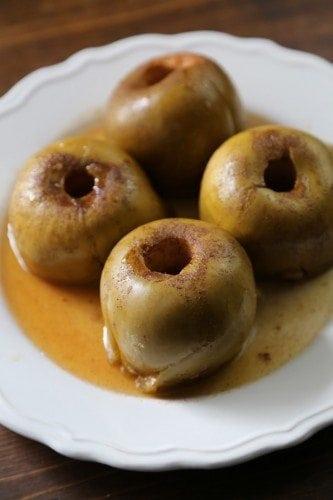 crock pot baked apples recipe