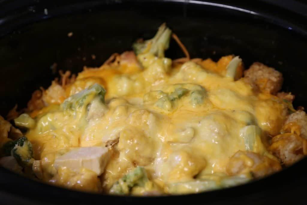 Crock Pot Tater Tot Chicken Casserole
