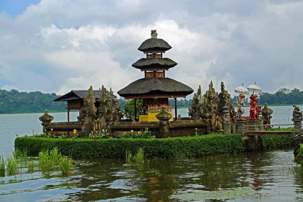 Ulun Danu Beratan Lake Palace in Bali