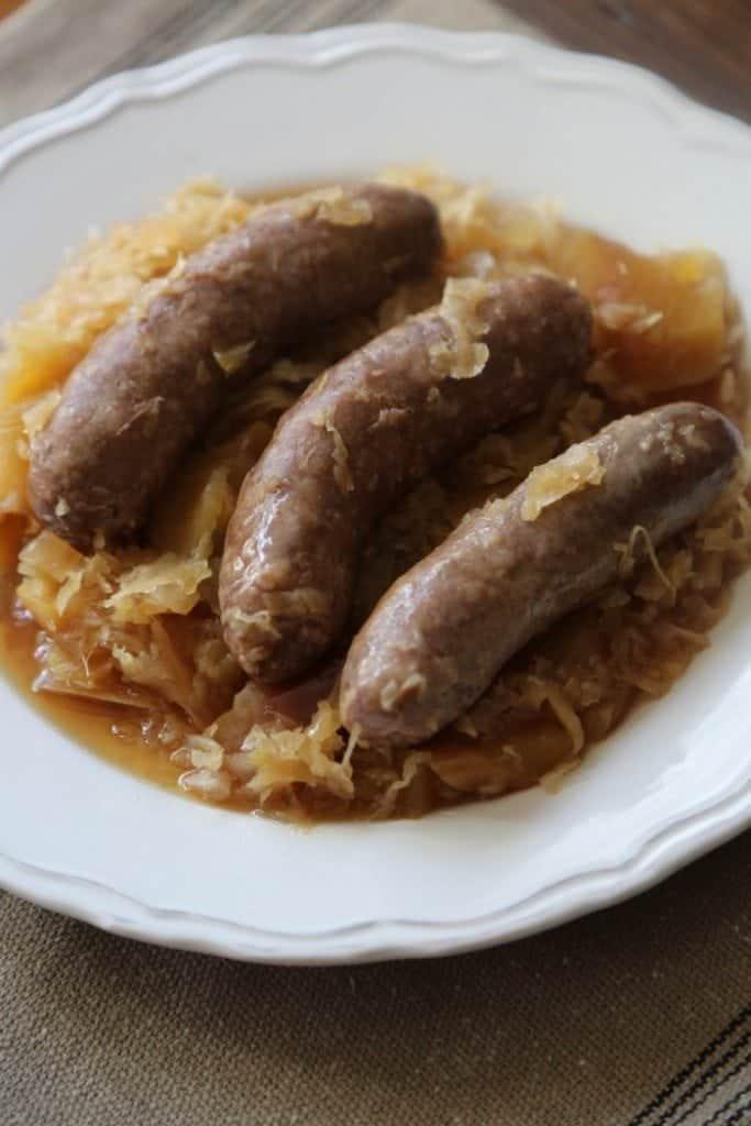 Crock Pot German Brat Recipe
