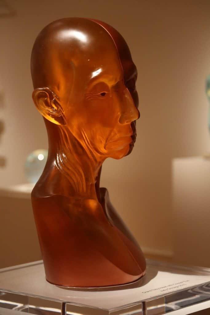 Fort Wayne Museum of Art Glass Display