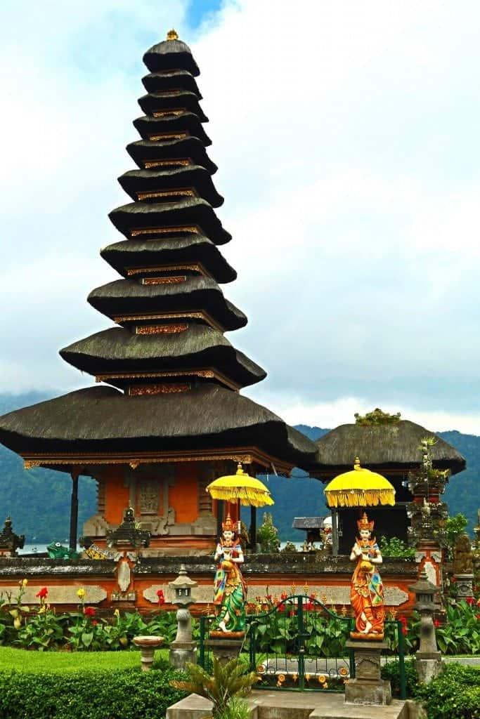 Lake Palace Bali Indonesia
