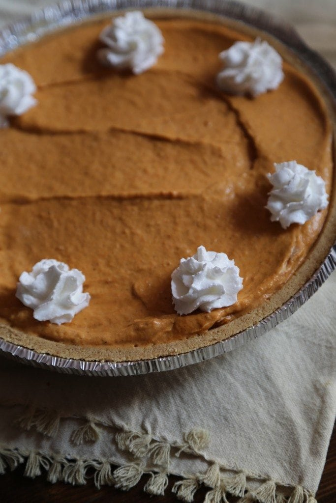 No Bake Pumpkin Butterscotch Pie Recipe