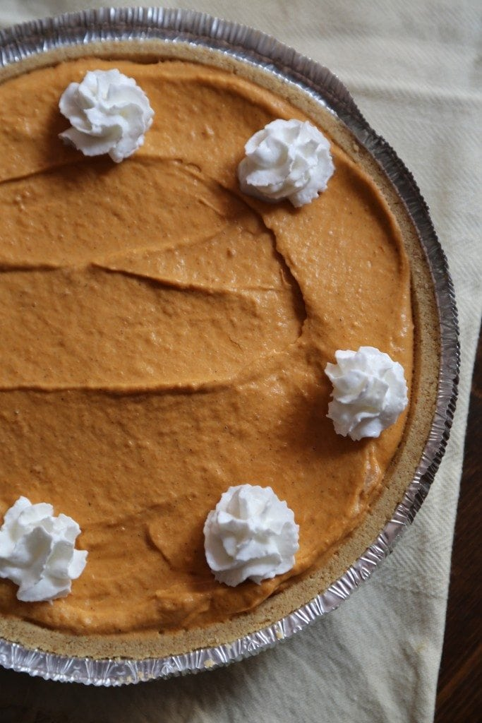 No Bake Pumpkin Butterscotch Pie Recipe Tammilee Tips