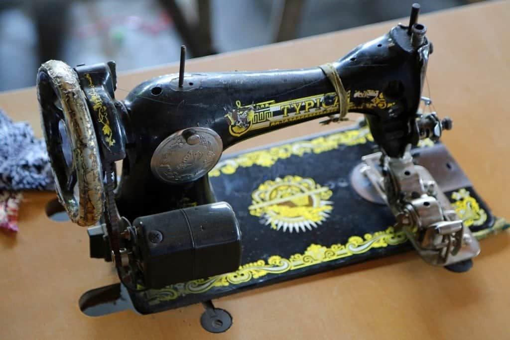 Sewing machine at Batik Factory