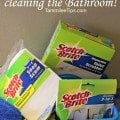 Tips and Tricks for cleaning the Bathroom!